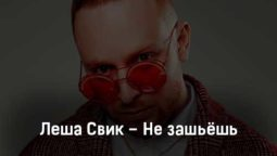 lesha-svik-ne-zashyosh-tekst-i-klip-pesni