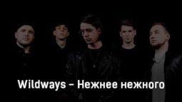 wildways-nezhnee-nezhnogo-tekst-i-klip-pesni