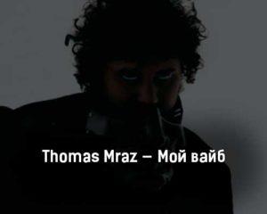 thomas-mraz-moj-vajb-tekst-i-klip-pesni