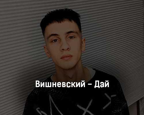 vishnevskij-daj-tekst-i-klip-pesni