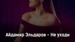 ajdamir-ehldarov-ne-uhodi-tekst-i-klip-pesni