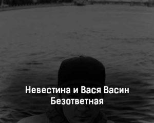 nevestina-i-vasya-vasin-bezotvetnaya-tekst-i-klip-pesni