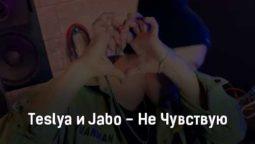 teslya-i-jabo-ne-chuvstvuyu-tekst-i-klip-pesni