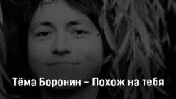 tyoma-boronin-pohozh-na-tebya-tekst-i-klip-pesni