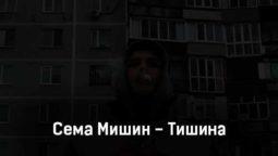 sema-mishin-tishina-tekst-i-klip-pesni