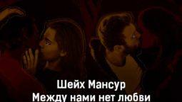 shejh-mansur-mezhdu-nami-net-lyubvi-tekst-i-klip-pesni